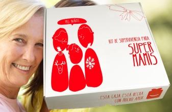 Kit de supervivecia de Super mamis (39 €) en el regalador