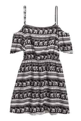 Vestido hombro descubierto 14,99 €