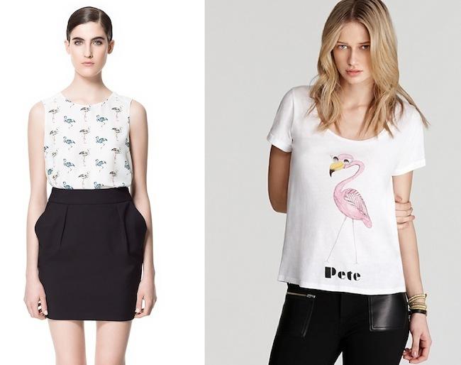 Blusa de Zara y camiseta de PJK x Man Repeller
