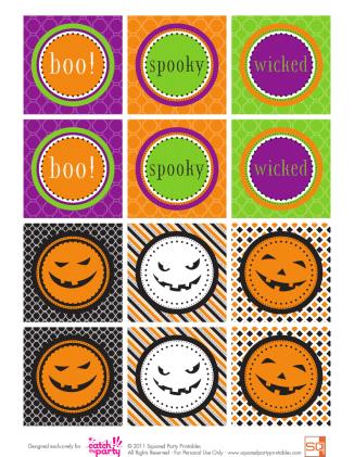 halloween-party-circles